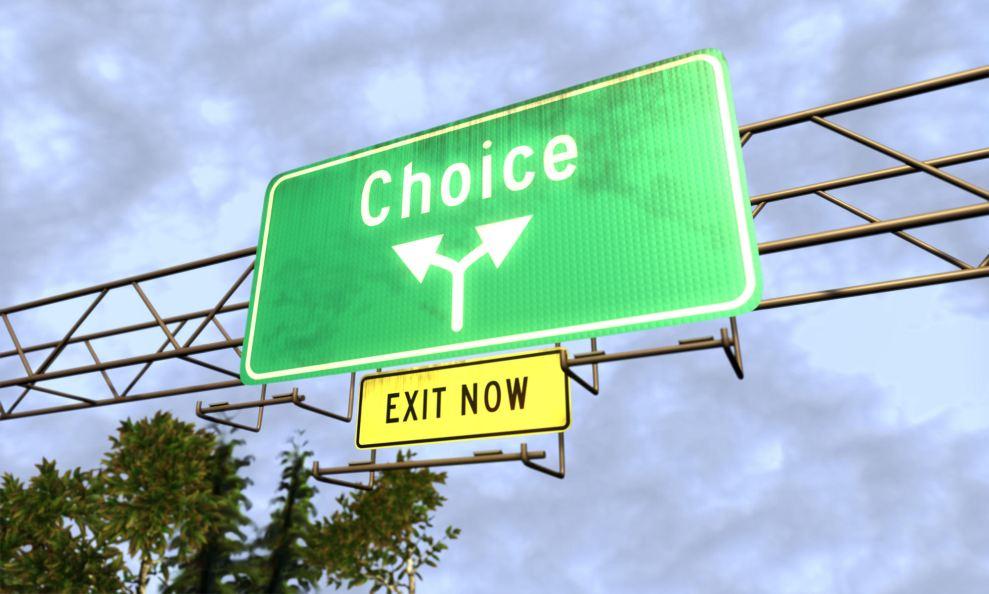 Choice-sign